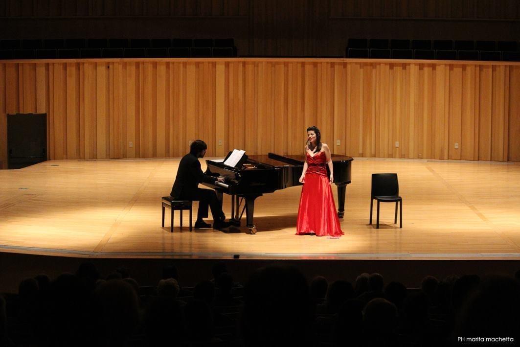 Alicia Martínez sopran and pianist Matías Galíndez