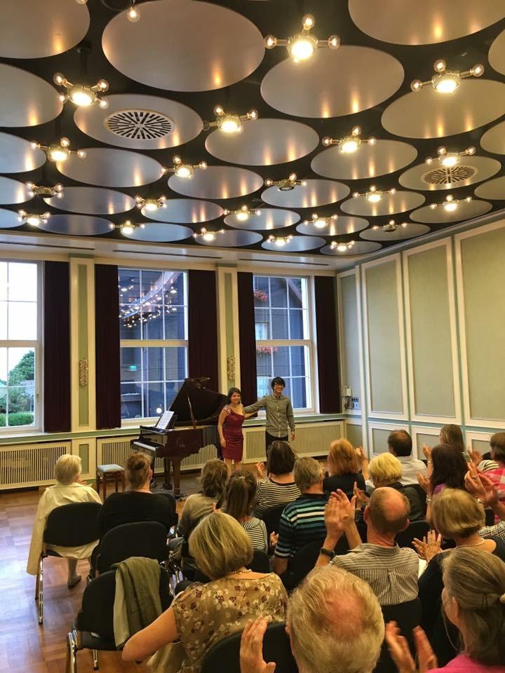 Alicia Martínez sopran Alejandro sung hyun Cho Klavier