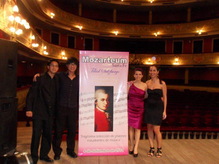 Alicia Martínez sopran und Alejandro Sung hyun Cho