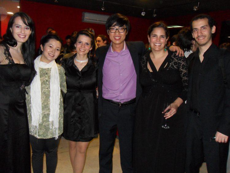 Alicia Martínez sopran, José Azar klavier, Alejandro SUng hyun Cho klavier, María Goso Sopran, Rocío Giordano Sopran
